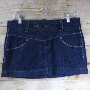 Express Denim Mini Skirt - 2